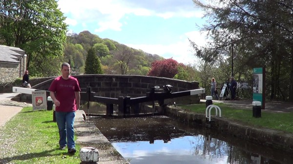 Rochdale Canal in Hebden Bridge