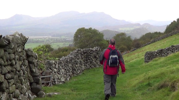 Walking near Harlech