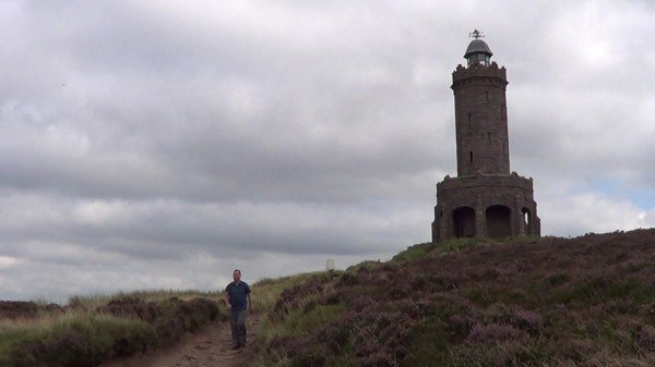 Jubilee Tower or Darwen Tower in the West Pennine Moors
