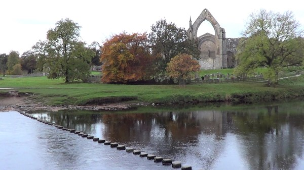 Bolton Abbey in the Yorkshire Dales